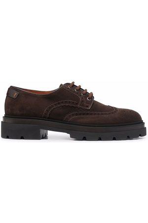 santoni Muži Do práce - Chelsea lace-up derby shoes