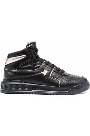 VALENTINO GARAVANI Muži Tenisky - Roman Stud high-top sneakers