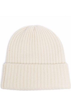 LISKA Ribbed-knit beanie