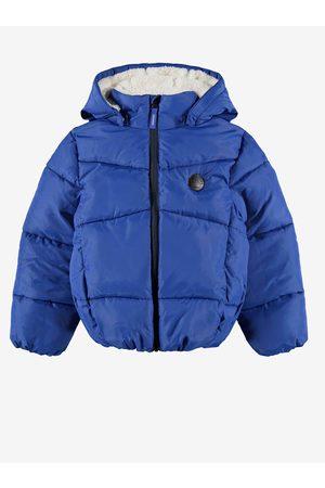 NAME IT Klučičí prošívaná bunda s kapucí Make