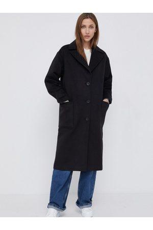 Calvin Klein Dámský černý kabát