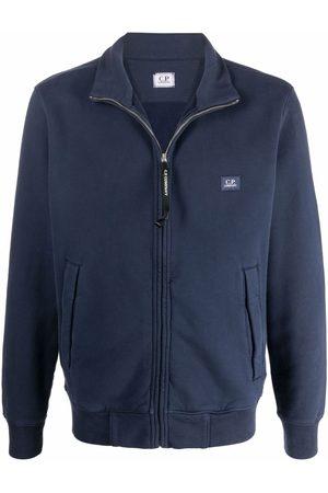 C.P. Company Muži Ke krku - High-neck zip-front pullover