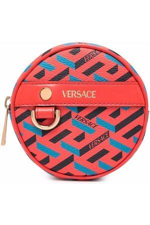 VERSACE Peněženky - La Greca circle coin pouch