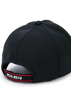 Miu Miu Glitter patch baseball cap