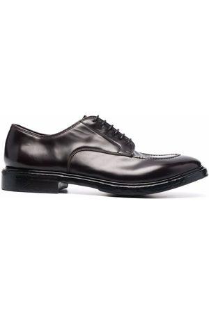 Premiata Muži Do práce - Lace-up leather derby shoes