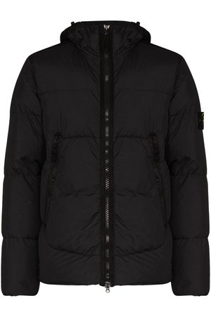 Stone Island Compass quilted puffer jacket