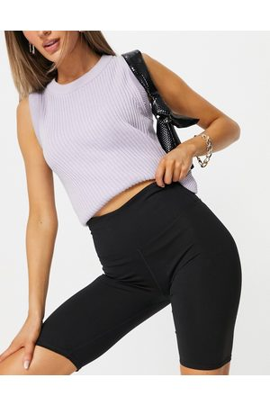 Cotton On Active legging shorts in black