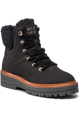 Tommy Hilfiger Ženy Pohorky - Th Outdoor Flat Boot FW0FW05944