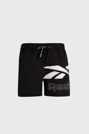 Reebok Muži Šortky - Černé koupací šortky Carl