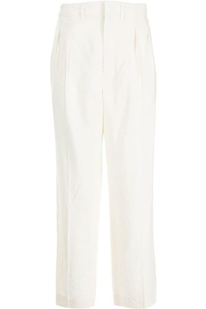 LEMAIRE Box pleat straight trousers