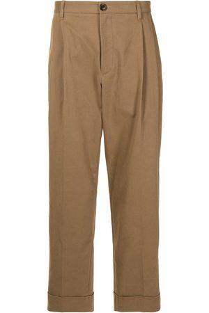 Ports V Turned-hem straight-leg trousers