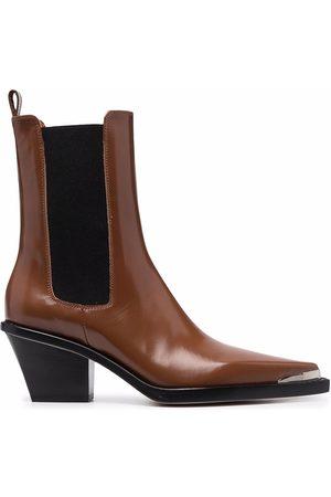 PARIS TEXAS Dallas slim leather cowboy boots