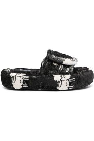 DUOltd Sheep-pattern terry slipper