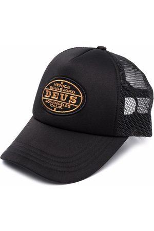 Deus Ex Machina Embroidered-logo patch baseball cap