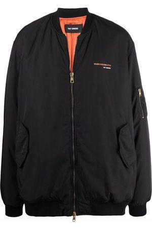RAF SIMONS Synchronicity oversized padded jacket