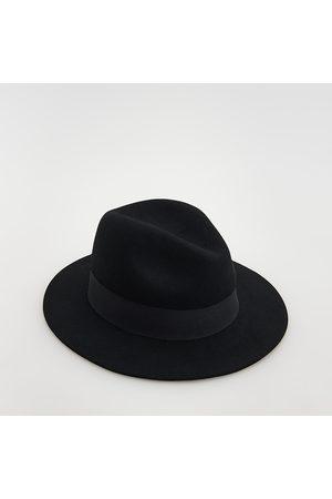 Reserved Ženy Klobouky - Vlněný klobouk fedora - Černý