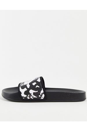 The North Face Muži Sandály - Base Camp III sliders in black camo
