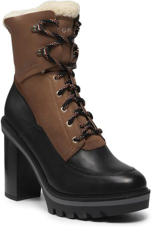 Tommy Hilfiger Warmlined High Heel Outdoor Boot FW0FW06009