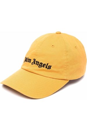 Palm Angels Logo-embroidered cap