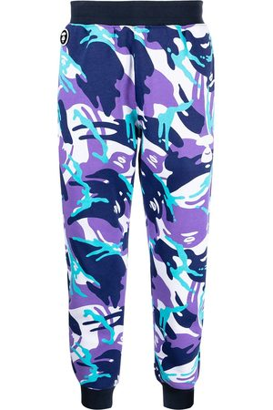 AAPE BY A BATHING APE Muži Tepláky - Graphic-print track trousers
