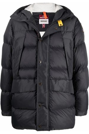Parajumpers Hooded feather-down padded jacket