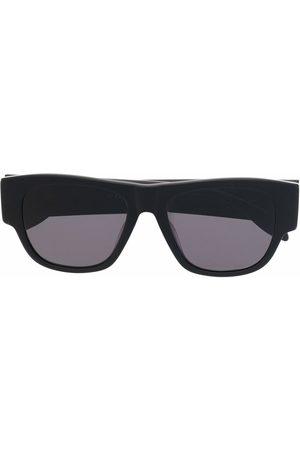 Alexander McQueen Logo print square frame sunglasses