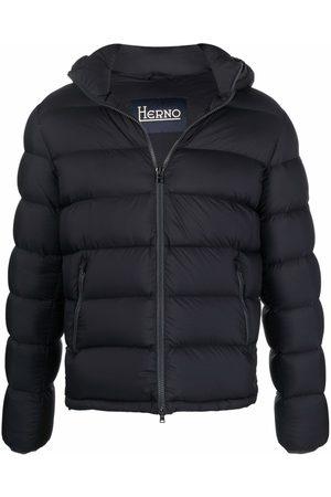 HERNO Muži Péřové bundy - Detachable hood puffer jacket