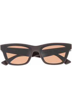 Bottega Veneta Sluneční brýle - Square-frame sunglasses
