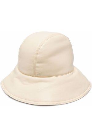 Nanushka Klobouky - Cameron vegan leather cloche hat