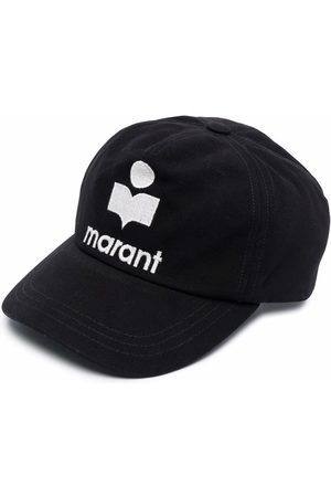 Isabel Marant Logo-embroidered cotton cap