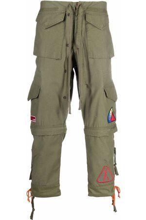 GREG LAUREN Multi-pocket cargo trousers
