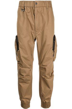 Izzue Logo straight-leg cargo trousers