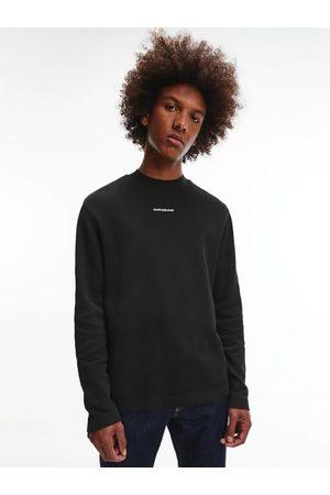 Calvin Klein Muži Trička - Pánské černé triko