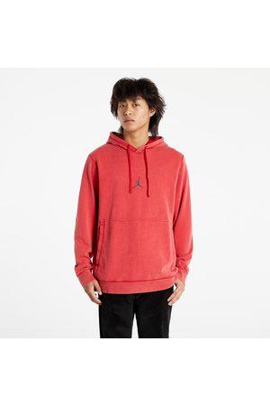 Jordan Dri-FIT Air Men's Fleece Pullover Hoodie Gym Red/ Black