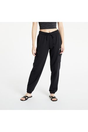 Nike NSW Essential Fleece Mid-Rise Cargo Pants Black/ White