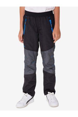 sam 73 Šedo-černé klučičí kalhoty Sholto