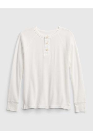 GAP Bílé klučičí tričko basic