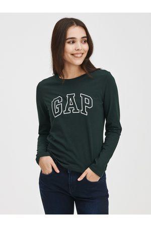GAP Zelené dámské tričko easy s logem