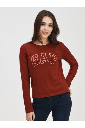 GAP Červené dámské tričko easy s logem