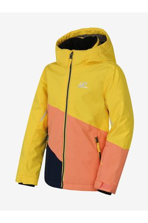 Cubus Meruňkovo- dětská zimní nepromokavá lyžařská bunda