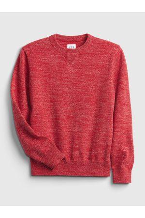GAP Červený klučičí svetr pletený