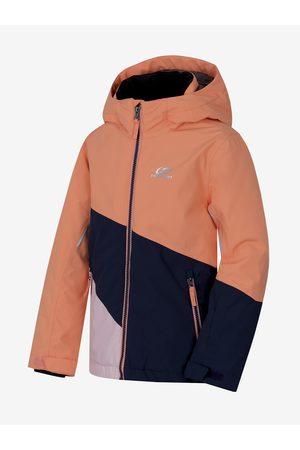 Cubus Černo- dětská zimní nepromokavá lyžařská bunda