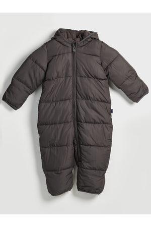 GAP Černý klučičí overal prošívaný snowsuit