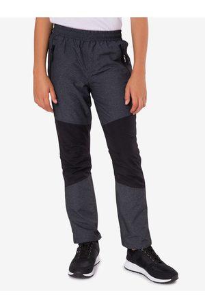 sam 73 Chlapci Kalhoty - Černo-šedé klučičí kalhoty Sholto