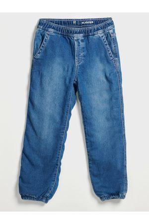 GAP Modré klučičí džíny lined med