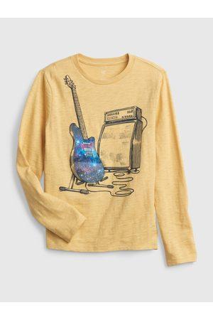 GAP Žluté klučičí tričko lenticular