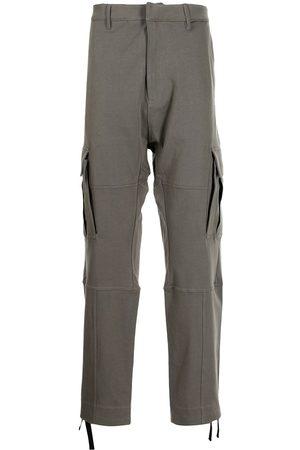 MARCELO BURLON Strap-detail cargo pants