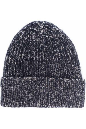 Acne Studios Ribbed beanie hat