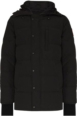 Canada Goose Carson logo patch puffer jacket