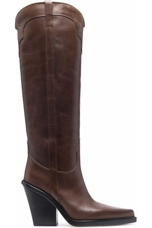 PARIS TEXAS Brown cowboy boots